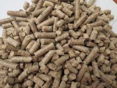 Table wood pellets