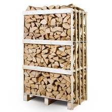 10-15% moisture FSC CERTIFIED firewood on pallets