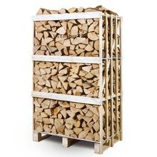 10-15% moisture FSC CERTIFIED firewood on pallets