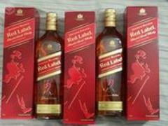 Johnnie Walker Red, Black, Gold, Blue Labels