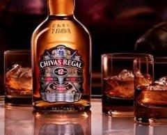Chivas, Jack Daniels, J & B, Johnnie