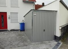 Garage Blechgarage Motorradgarage Schuppen Fertiggarage Lager - 2x3