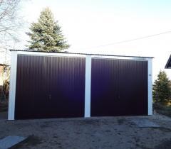 Garage Blechgarage Metallgarage Schuppen Fertiggarage Lager- 5x6m