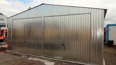 Lagerhalle Blechgarage Lager Landwirtschaft 6x14m mit Statik
