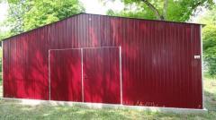 Lagerhalle Blechgarage Lager Landwirtschaft 7x12m mit Statik