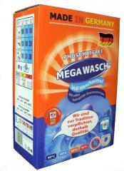 Mega Wasch Vollwaschmittel Waschpulver Waschmittel 8 kg