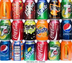 Безалкохолни напитки, Mirinda, Sprite, Coke, Fanta, Lipton Ice Tea, Pepsi, Cola 330ml Can