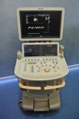 Диагностическая ультразвуковая система Philips iE33 с тремя датчиками 2008г.
