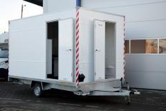 Hofmann Bauwagen Bürowagen mit Toilette 1800kgGG