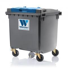 Контейнеры для сбора мусора 10 - 110 литров