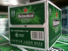 Holland Heineken Bier 250ML, 330ML, 500ML,