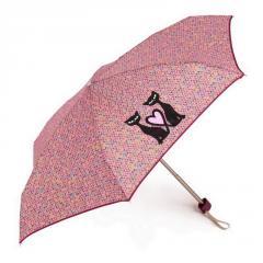 Flacher Mini Regenschirm NEX 65511 Moderne Motive 16 cm Überschlagsicher