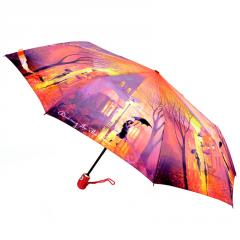 Auto Open Close Pocket Umbrella ZEST 23846 Windproof Motley Motifs