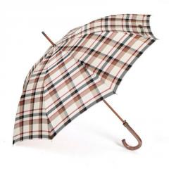 Automatic Long Umbrella ZEST 51652 Yarn-Dyed Wooden Handle