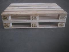 Cheap Solid Epal Pine Wooden Pallet