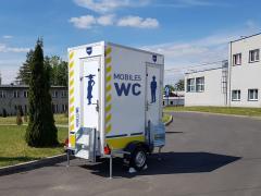BLYSS Toilettenanhänger 750kgGG 110x110x210cm