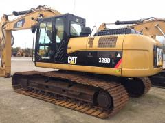 Kettenbagger Caterpillar 329DL *2010