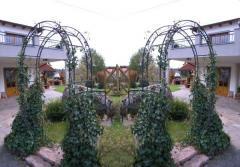Rosenbogen Rund oder Lilie Spitze Pergola Gartenbogen Torbogen