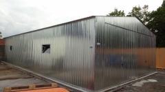 Stahlhalle Halle Lager Lagerhalle Produktionshalle 20 x 7 m Einfahrtshöhe H 3 m