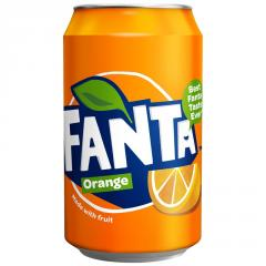 Fanta orange 330ml can X 24