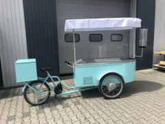Verkaufsfahrrad Eisverkauf Eis Bike 320x102x210cm