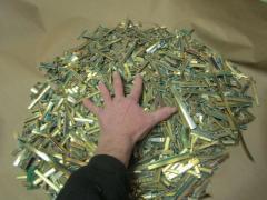 Лом компьютерных золотых пальцев для извлечения