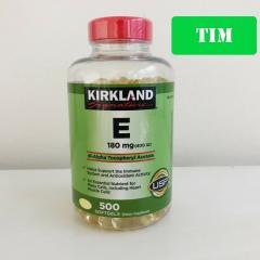 Kirkland Vitamin E 180MG (400 IU) 500 softgels