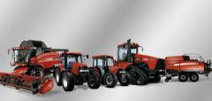 Case-IH Traktoren und Maschinen