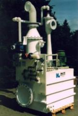 Venturiwaschanlage aus PVDF-GF-UP