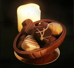 Schokoladen Eierschale