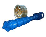 Vertikal ein- oder mehrstufige Kreiselpumpe für