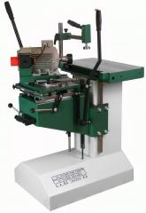 Drilling and slotting machines for wood