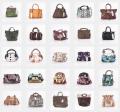 Bunte Kollektion von Damen Handtaschen aus Spanien