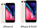 Smartphone iPhone 8+ 256gb Rose