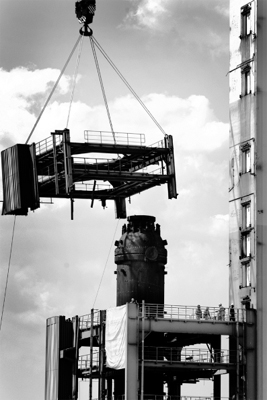 Auftrag Industriefotografie