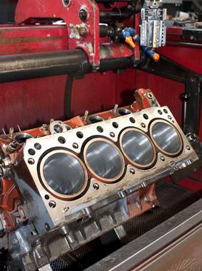 Auftrag Instandsetzung und Generalüberholung von Diesel- und Gasmotoren
