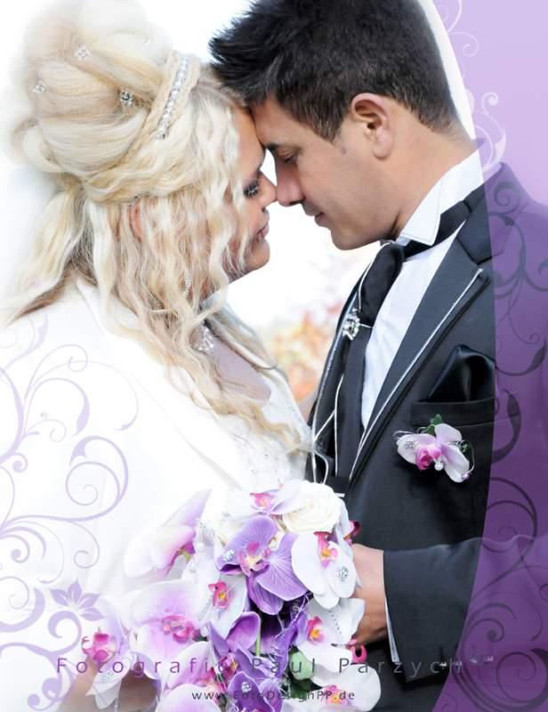 Auftrag Hochzeits-Fotografie