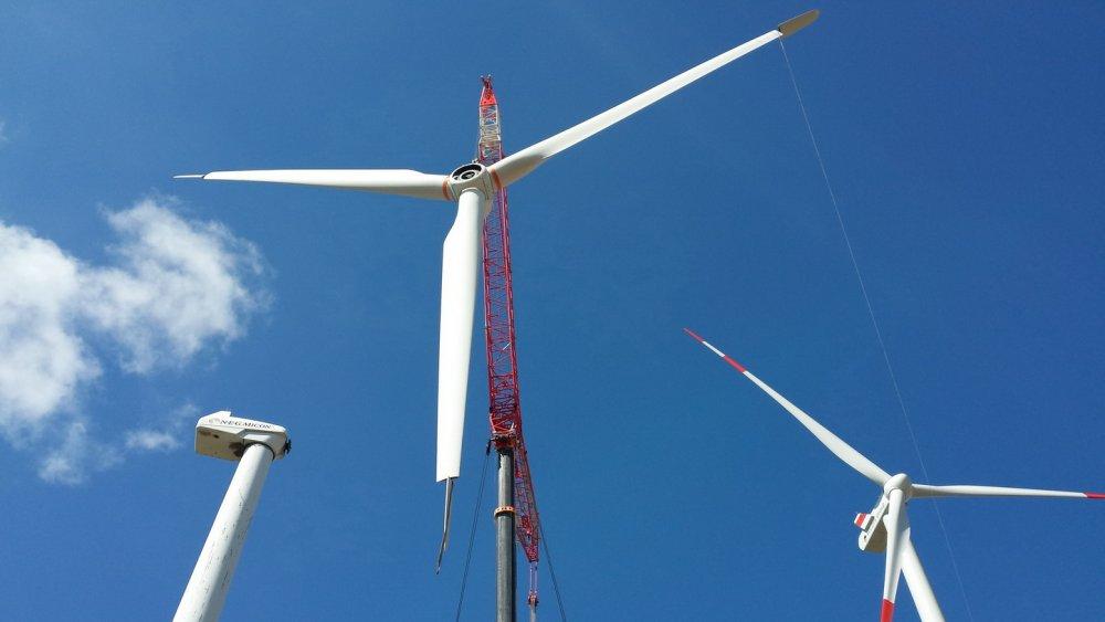 Auftrag Demontage von Windkraftanlagen