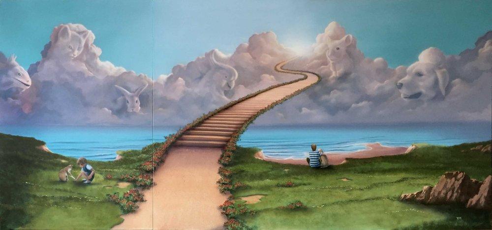 Auftrag Illusionsmalerei, Wandmalerei