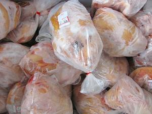 Auftrag Frozen chicken whole