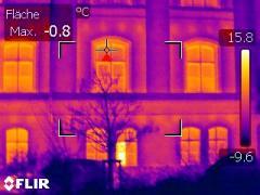 Gebäudethermographie