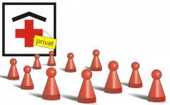 Private und städtische Krankenhäuser
