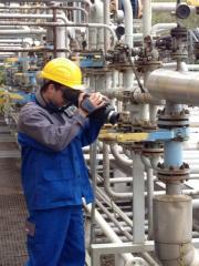 Gasdetektion mit Infrarotkamera Petrochemie, Biogasanlagen